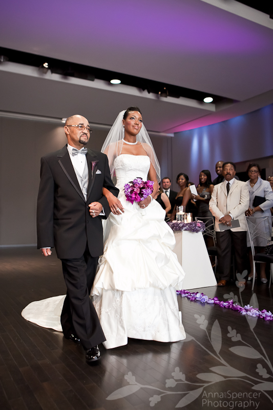 twelve Atlantic station wedding of desmond and kisha in Atlanta