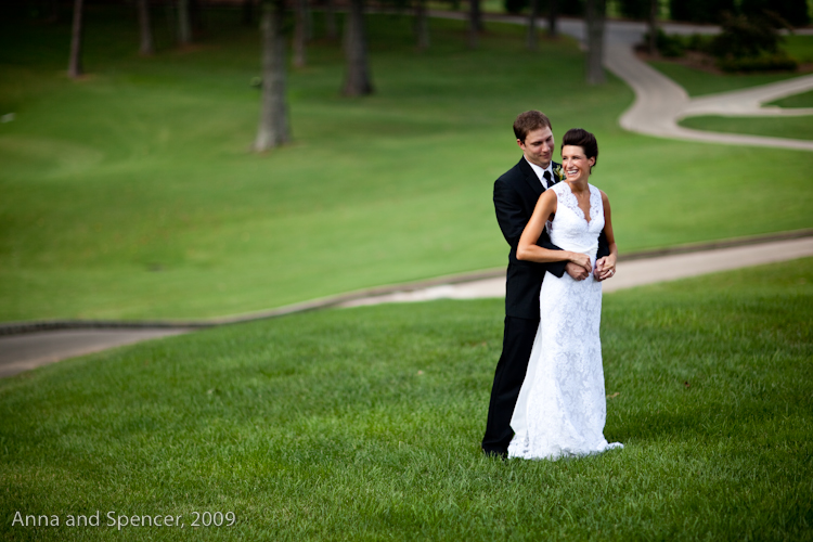 Adrienne and Ben at the Atlanta Country Club | Wedding Photograph
