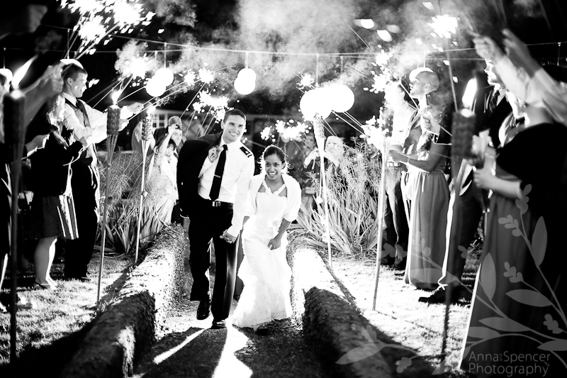Sparkler send off, Rose Hill Estate Wedding, Aiken, SC, Anna and Spencer Photography 2010