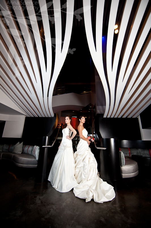 Photographs by Anna and Spencer Photography | Atlanta Wedding Photographers | Photograph Taken at the W Hotel Midtown