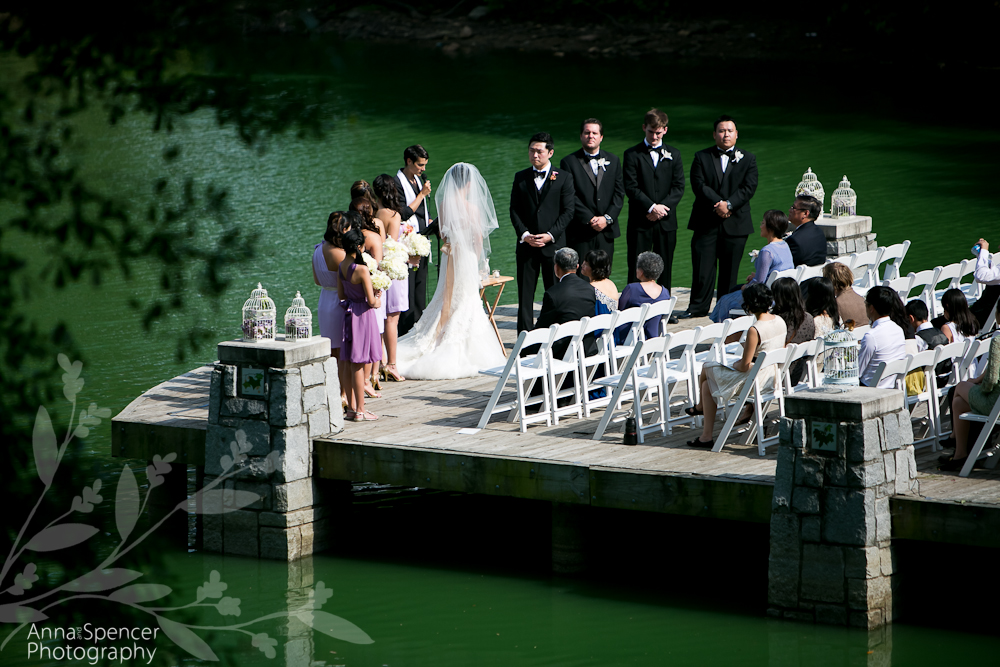Ceremony Piedmont Park Dock