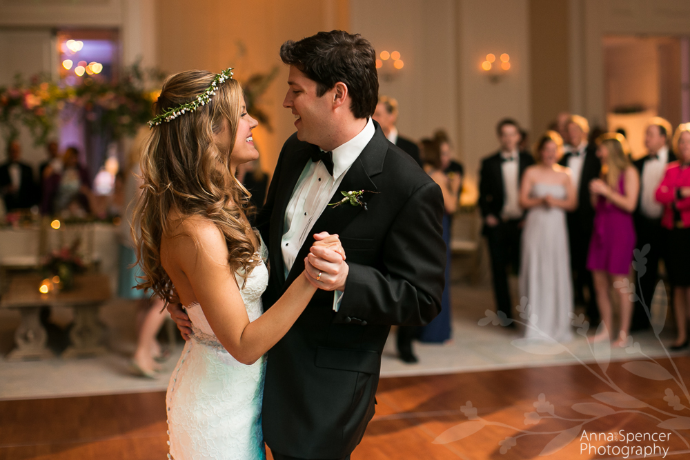 Bride and Grooms First Dance at the St Regis Atlanta