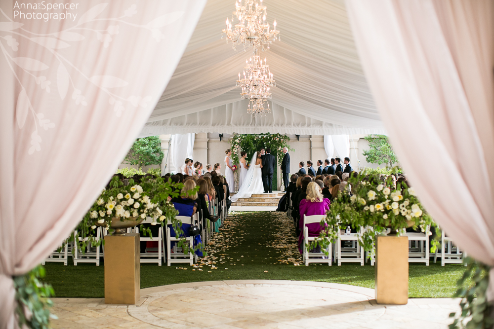 Wedding Ceremony at the St Regis in Atlanta