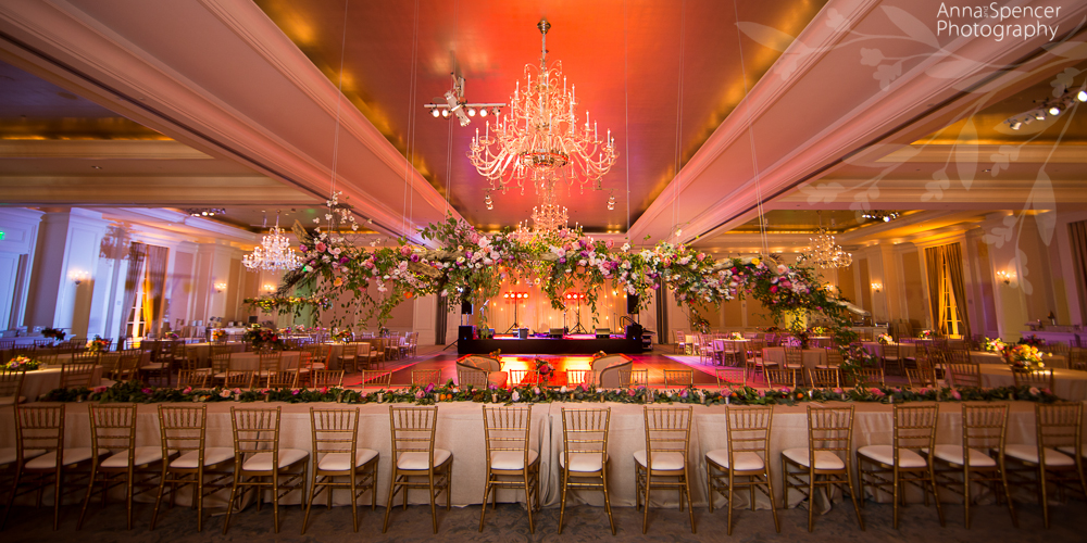 Wedding Reception in the Astor Ballroom at the Saint Regis Atlanta