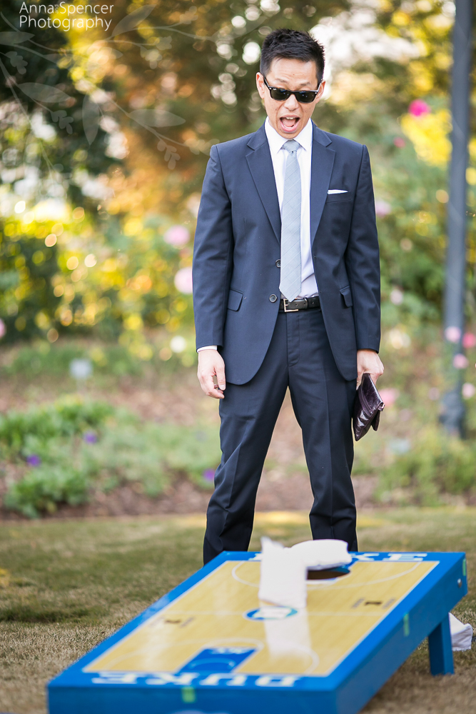 Duke Corn Hole Lawn Game