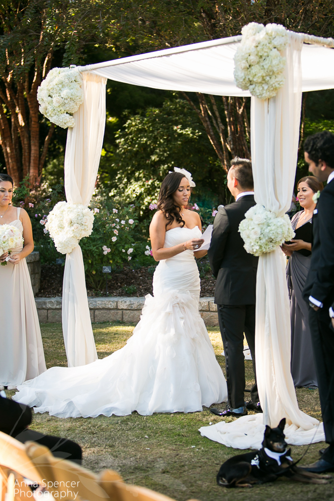 Wedding At The Atlanta Botanical Garden