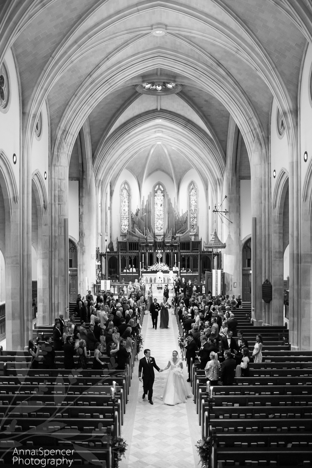 Wedding at the Cathedral of St Philip in Atlanta