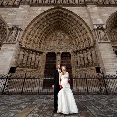 Atlanta Wedding Photography in France