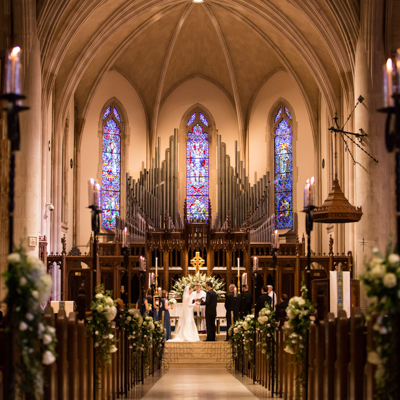 Cathedral of St Philip Wedding
