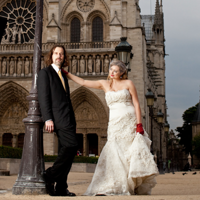 Wedding Photography in Paris France