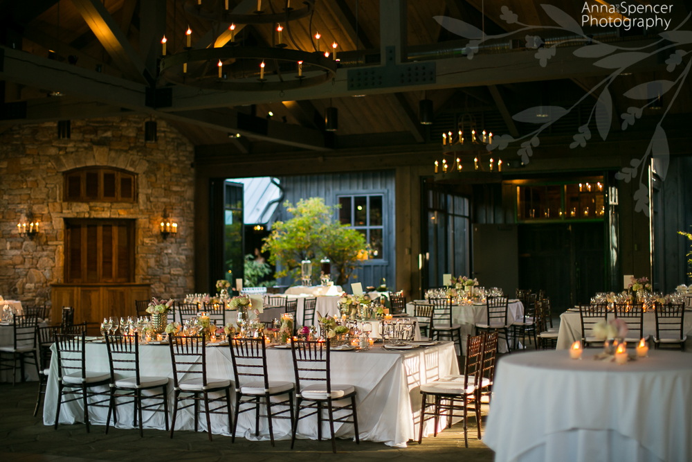 Photograph Of A Reception At The Barn Old Edwards Inn