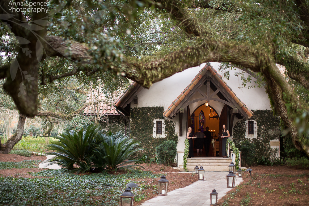 Exterior Photograph Of The Sea Island Chapel
