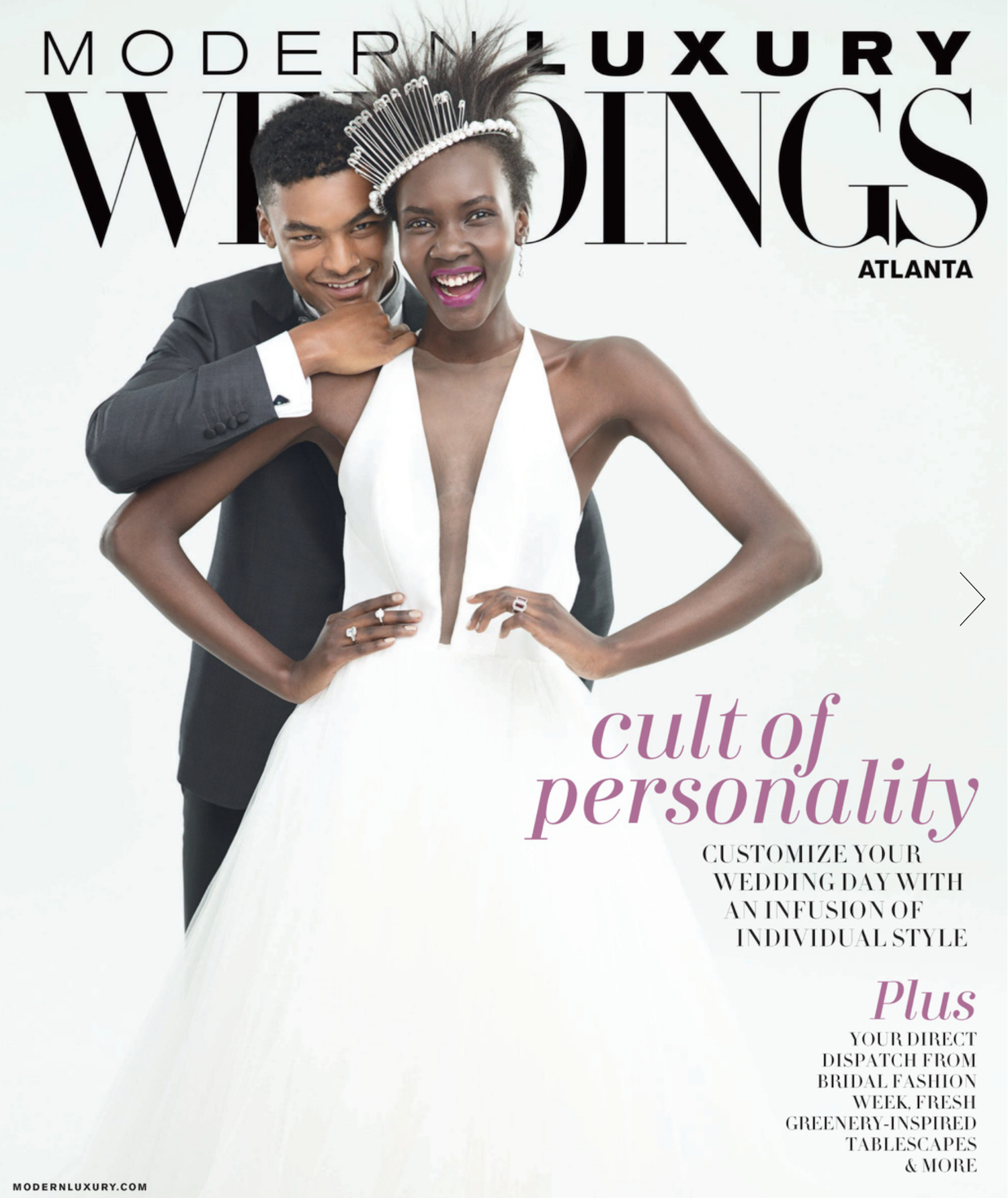 Modern Luxury Weddings Atlanta Magazine Four
